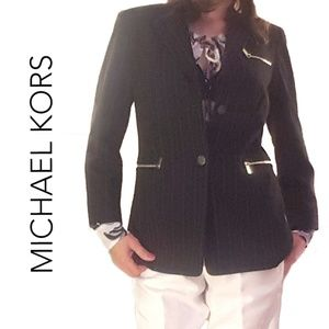 Michael Kors pinstripe jacket/blazer, 4